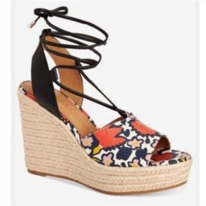 Coach Dana Espadrille Wedge Sandals